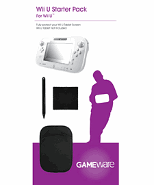 GAMEware Wii U Starter Pack Accessories