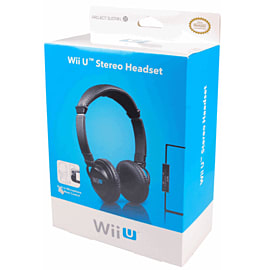 GAMEware Wii U Chat Headset - Black Accessories