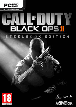 Call of Duty: Black Ops II Exclusive Steelbook Edition PC Games Cover Art