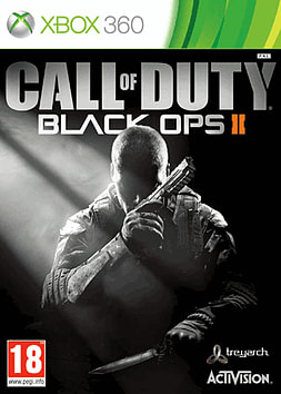Call of Duty: Black Ops II Xbox 360 Cover Art