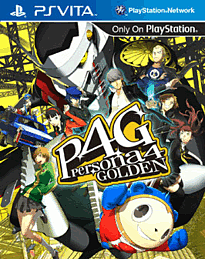 Persona 4: Golden PS Vita Cover Art