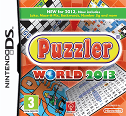Puzzler World 2013 DSi and DS Lite