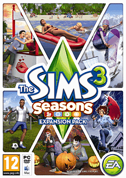 The Sims 3 Seasons PC Games Cover Art