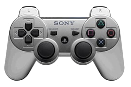Dualshock 3 Controller  - Silver Accessories