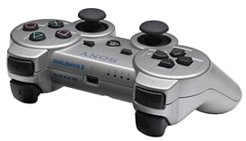 Dualshock 3 Controller  - Silver screen shot 1