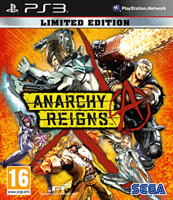 Anarchy Reigns - Limited Edition PlayStation 3 Cover Art