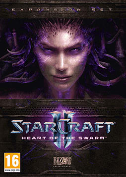 StarCraft II: Heart of the Swarm PC Games Cover Art