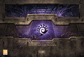 StarCraft II: Heart of the Swarm - Collector's Edition PC-Games Cover Art