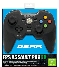 FPS Assault Pad EX for Xbox 360 Accessories