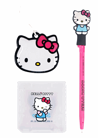 3DS Hello Kitty Starter Pack Accessories