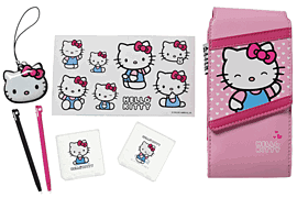 Hello Kitty 7-In-1 Accessory Kit (DS Lite / DSi / 3DS) Accessories