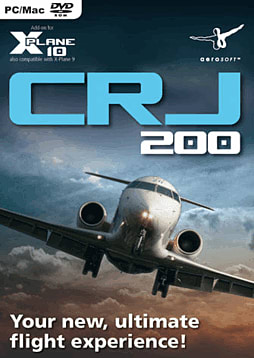 Canadair Jet CRJ-200 For X-Plane PC Games