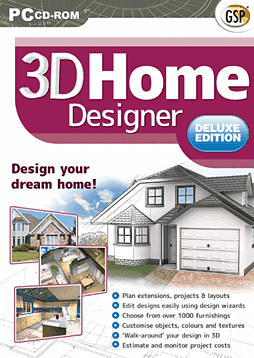 3D Home Designer Deluxe PC Games Cover Art