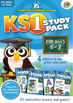 Computer Classroom At Home KS1 Study Pack (Ages 5-7) PC Games Cover Art