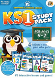 Computer Classroom At Home KS1 Study Pack (Ages 5-7) PC Games