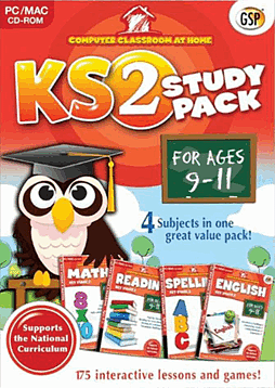 Computer Classroom At Home KS2 Study Pack (Ages 9-11) PC Games Cover Art