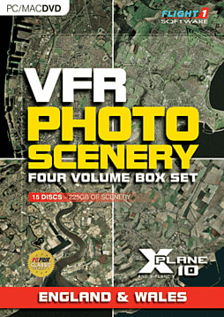VFR Photographic Scenery: Four Volume Boxset PC Games Cover Art