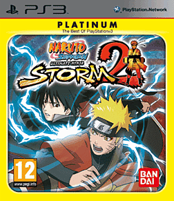 Naruto Shippuden Ultimate Ninja Storm 2 Platinum playstation 3 Cover Art