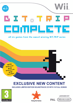 Bit.Trip Complete Wii Cover Art