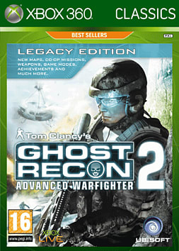 Ghost Recon Advanced Warfighter 2 Best Sellers Xbox 360 Cover Art