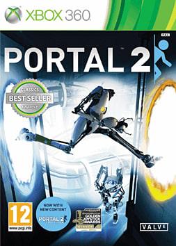 Portal 2 Classics Xbox 360 Cover Art