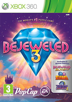 Bejeweled 3 Xbox 360 Cover Art