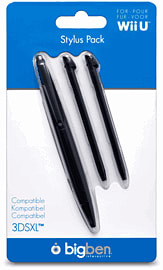 Wii U Stylus Pack Accessories