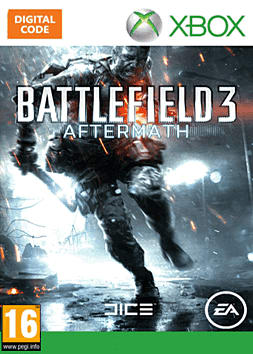 Battlefield 3: Aftermath Xbox Live Cover Art