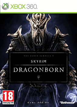 The Elder Scrolls V: Skyrim - Dragonborn Xbox Live Cover Art