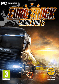 Euro Truck Simulator 2 PC Games Cover Art