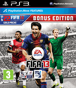 FIFA 13 Bonus Edition PlayStation 3 Cover Art