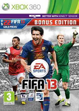 FIFA 13 Bonus Edition Xbox 360 Cover Art