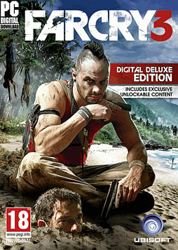 Far Cry 3 - Digital Deluxe Edition PC Games Cover Art