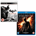 Batman: Arkham City with The Dark Knight Rises Blu-Ray PlayStation-3