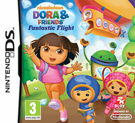 Dora and Friends Fantastic Flight DSi and DS Lite