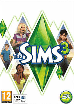 The Sims 3 PC Games Cover Art