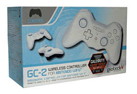Gioteck Wii U Bluetooth Controller White Accessories