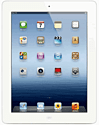 iPad with Retina Display 64GB Wi-Fi+ Cellular White Electronics