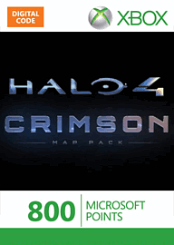 Halo 4 Crimson Map Pack Xbox Live Cover Art
