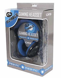 GP Rumble Headset for Playstation 3 Accessories