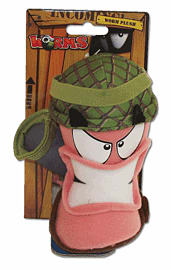 Worms Medium Army Plush Toys and Gadgets