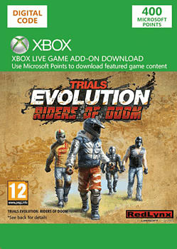 Trials Evolution - Riders of Doom Xbox Live Cover Art