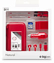 3DS Natural Pack 6 (Red) Accessories