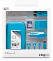 3DS Natural Pack 6 (Aqua) Accessories