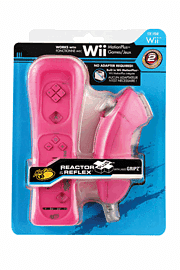 Wii Reactor Plus (Pink) Accessories
