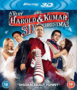 A Very Harold & Kumar 3D Christmas Blu-Ray