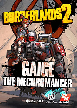 Borderlands 2: Mechromancer Pack DLC (MAC) Mac Cover Art