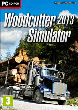 Woodcutter Simulator 2013 PC Games Cover Art