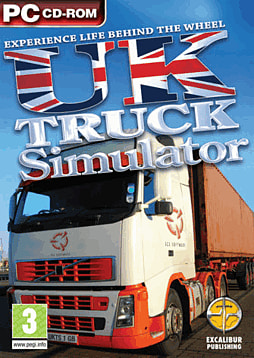 UK Truck Simulator PC Games Cover Art