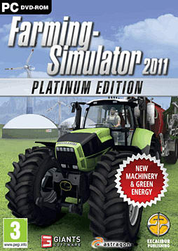 Farming Simulator 2011 - The Platinum Edition PC Games Cover Art